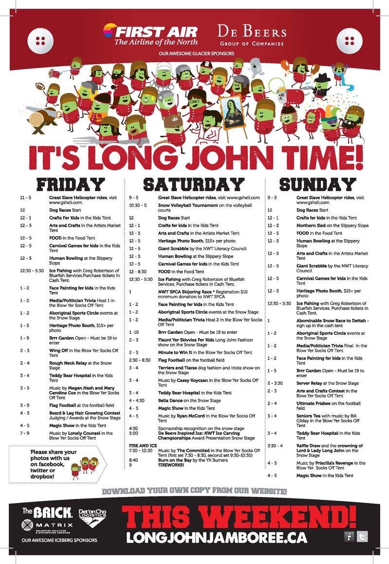 2014 LJJ Schedule