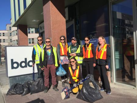 Downtown Litter 2018